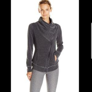 Calvin Klein Performance fleece zip front cardigan